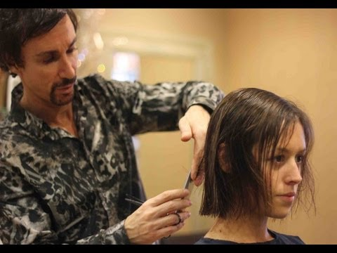 long-to-short-layered-bob-hairstyles-✂-short-choppy-bob-✂-medium-length-hair-tutorial