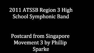 Postcard from Singapore Movement 3 by Phillip Sparke
