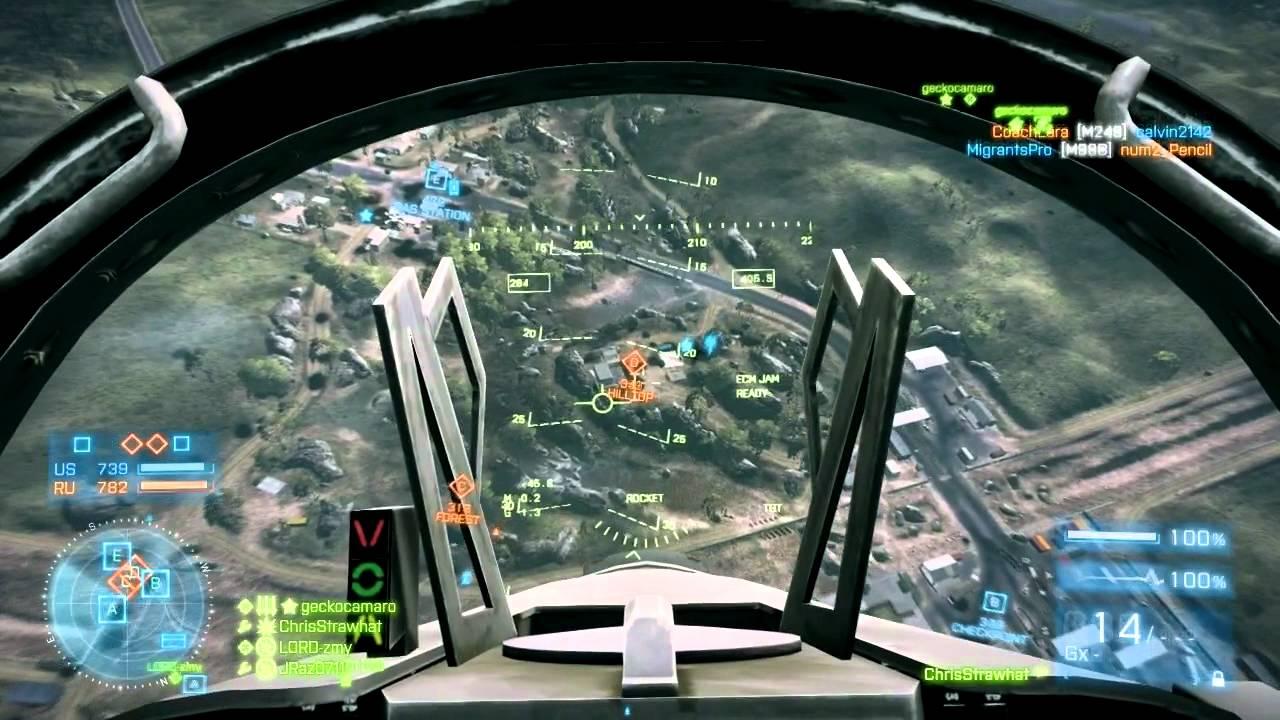 Battlefield 3 - Dünyanın 1. Pilotu Videosu