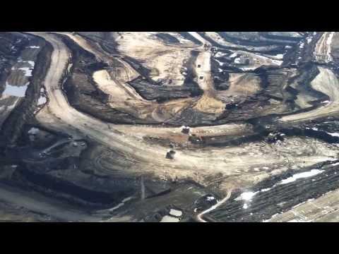 A bird's-eye view of Alberta's oil sands