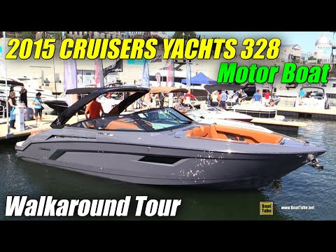2015 Cruisers Yachts 328 South Beach Special Edition Motor Boat - Walkaround - 2015 MTL Boat Show