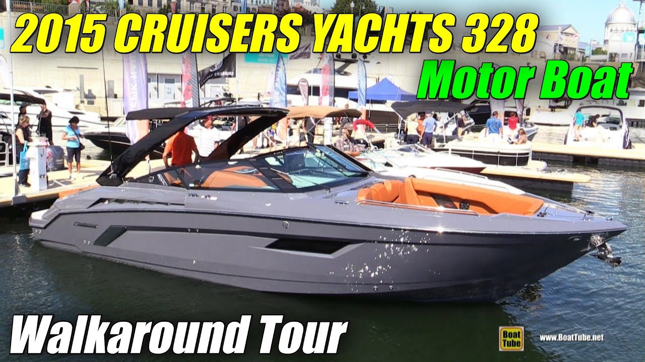 2015 Cruisers Yachts 328 South Beach Special Edition Motor
