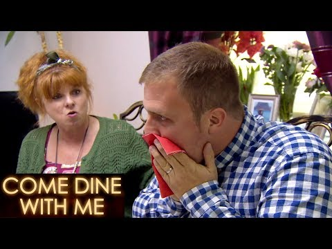 Mark Nearly Throws Up While Eating A Sardine | Come Dine With Me