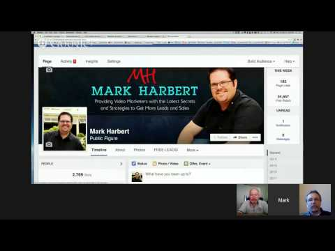 Mark Harbert - With Clive Jeffrey and Tom Leonard - How to Get 53+ Leads a Day Using Video and So...
