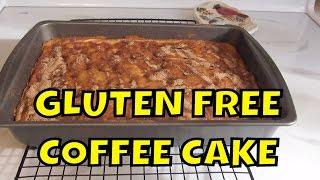 Gluten Free Apple Cranberry Yogurt Coffee Cake