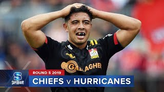 Chiefs v Hurricanes | Super Rugby 2019 Rd 5 Highlights