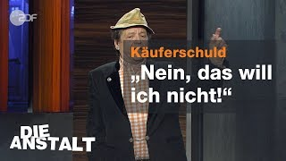 Erwin Pelzig über seinen Willen als Verbraucher
