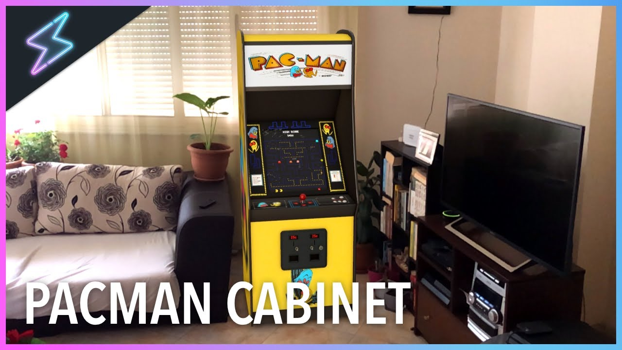 PAC-MAN Arcade Cabinet In Real Life I Particular AR Augmented Reality