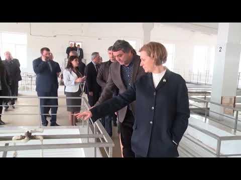 Руководитель Роспотребнадзора РФ посетила водоочистные сооружения Махачкалы