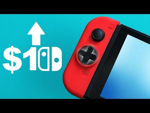 $10 Nintendo Switch Joy Con Upgrade