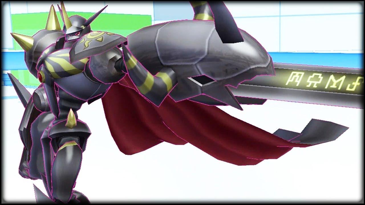 Digimon Story: Cyber Sleuth Gameplay - Black OMNIMON Zwart ...