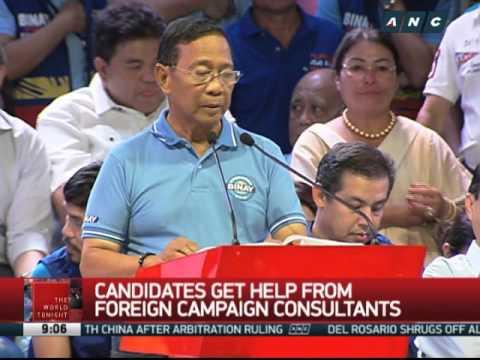 Binay gets American political strategists