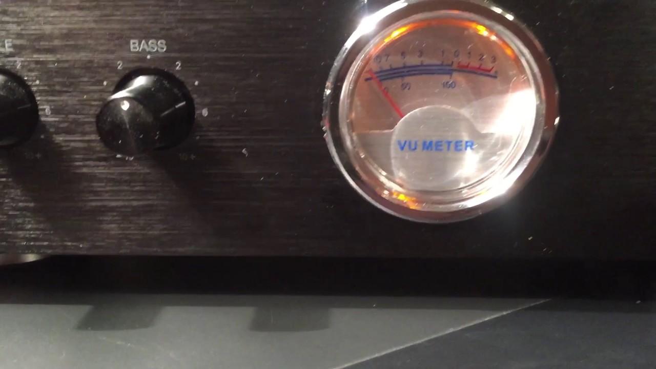 Monoprice stereo hybrid 50 watt tube amp