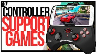 Top 10 BEST Android Games with Controller Support to play in 2018 [Offline/Online]