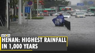 China: 12 people killed in Henan after heavy rainfall   Latest World English News   WION News