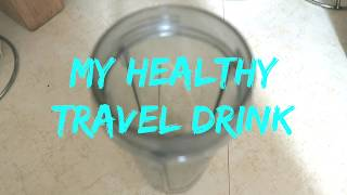 My Healthy Smoothie to Fight Jet Lag - Travel with Arianne - Travel, Food and Drink episode #7