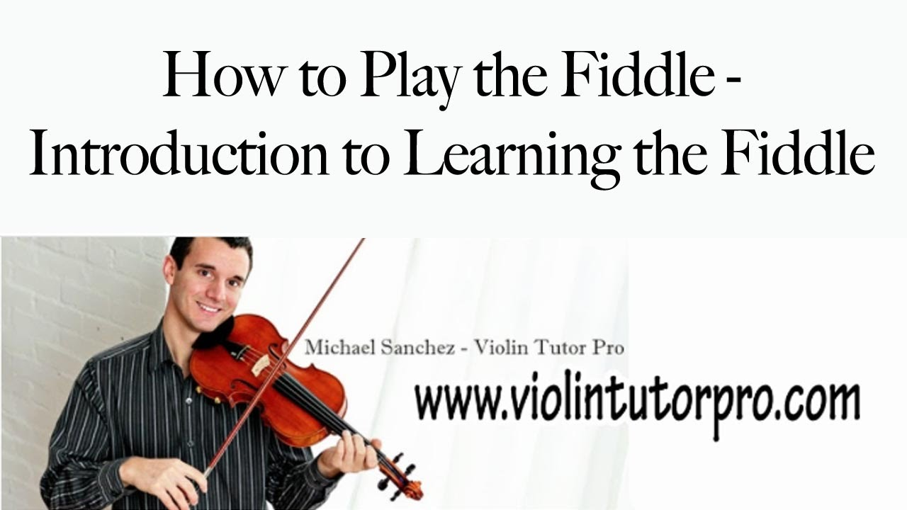 Fiddling for Older Folks – Learning to Play the Fiddle as ...