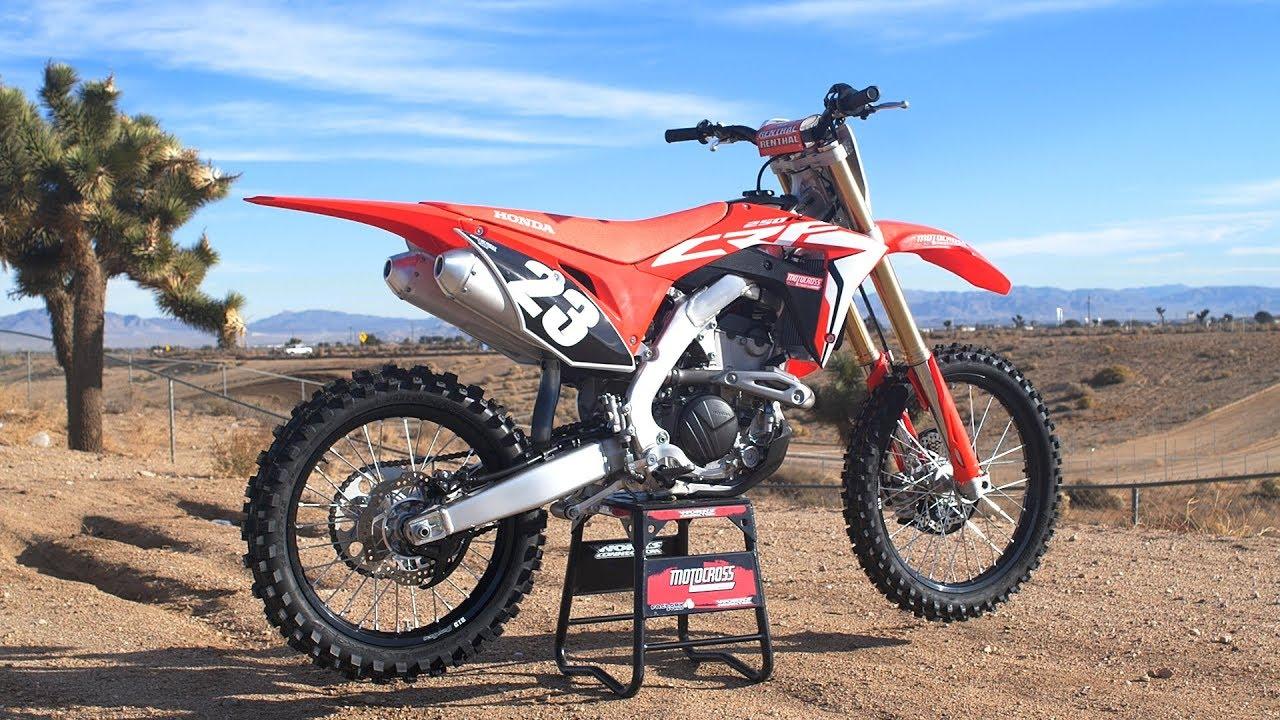 First Ride 2019 Honda Crf250 Motocross Action Magazine