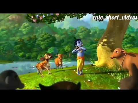 30 sec video for WhatsApp story (Mai Aarti Teri Gau O Keshav Kunj Bihari)