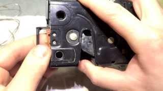Ремонт концевика замка Пассат Б5 - VW Passat B5 Door Lock Repair