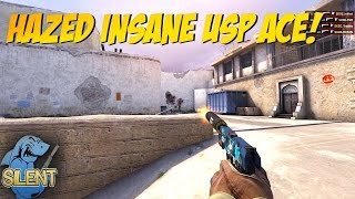 CS:GO - hazed INSANE USP ACE!