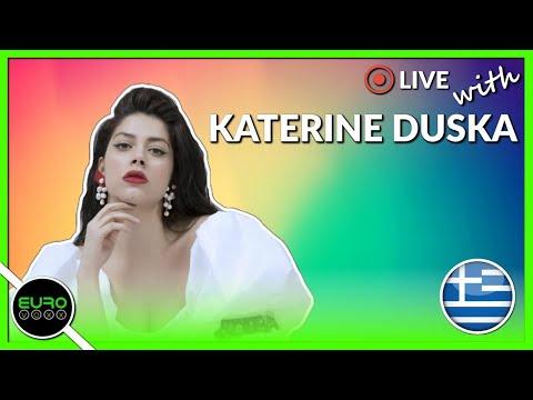 LIVE Q&A WITH KATERINE DUSKA (GREECE EUROVISION 2019)