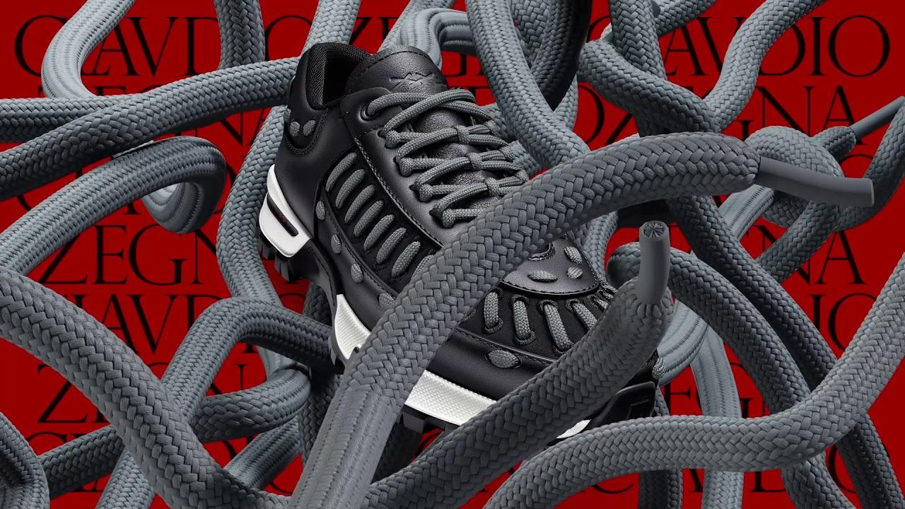 c58ab710 Zegna XXX My Claudio: la nuova sneaker interamente personalizzabile