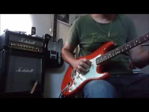 Fender Classic 60 Strat FSR Fiesta Red (Japan) - Part 1: Original Pickups.