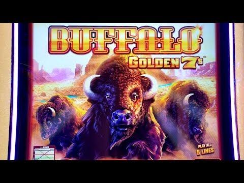 ★G2E 2018★ NEW Buffalo Gold 7s Slot Machine PREVIEW w/NG Slot | Global Gaming Expo 2018