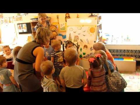 """Детский сад. Средняя группа дети 4 -5 лет. Открытый урок на тему """"ВЕСНА"""""""