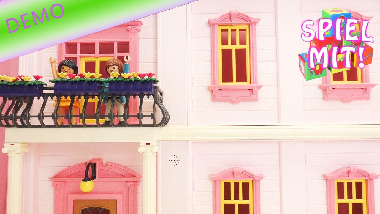 Playmobil Puppenhaus einrichten | buntes Kinderzimmer und Romantik ...