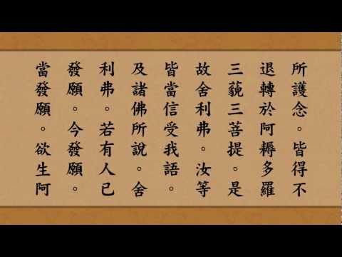 《佛说阿弥陀经》读诵木鱼版 (全集) 高清HD