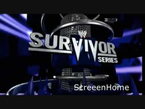 wwe survivor series 2009 graphics logo loop youtube