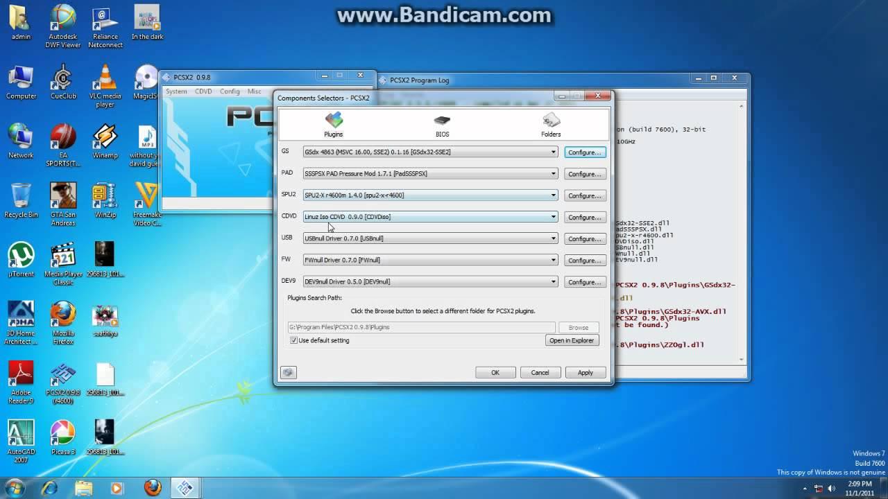 PCSX2 TÉLÉCHARGER 0.9.7 PLUGIN
