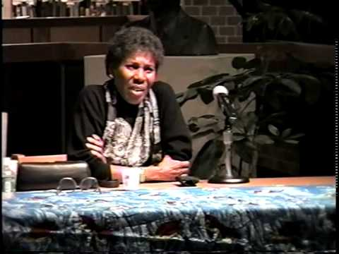 Paule Marshall (author) visits Medgar Evers College October 20, 2000