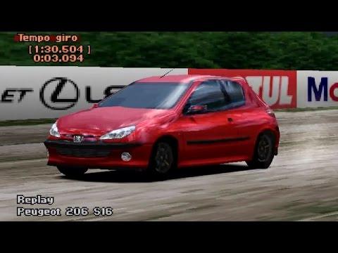 PLAYSTATION 1 - Gran Turismo 2: Peugeot 206 - YouTube