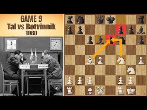 Deadly Sacrifice, BUT Wrong Game | Tal vs Botvinnik 1960. | Game 9