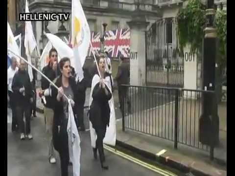 «Με το Φακό του Hellenic TV» Πορεία -- Διαδήλωση, Trafalgar Square