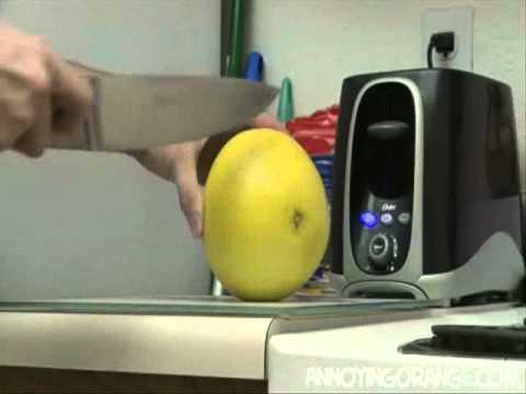 Annoying Orange DeathKnife AttackGrapefruit