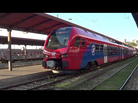 Train in Serbia (Vrsac-Beograd)