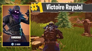 *NOUVEAU* SKIN CORBEAU LEGENDAIRE sur FORTNITE BATTLE ROYALE !