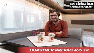 Bürstner Premio 495 TK | U CARAVAN | KARAVAN TANITIM