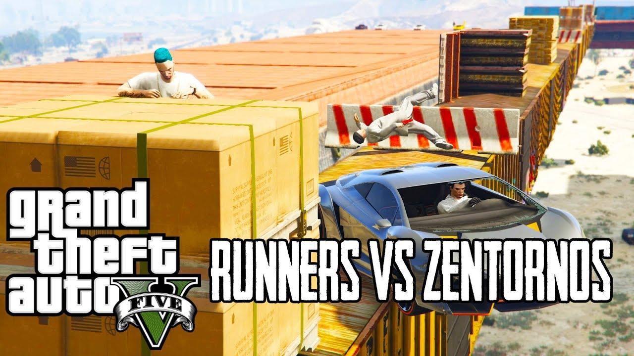 Runners vs. Zentornos (GTA 5 Online ქართულად)