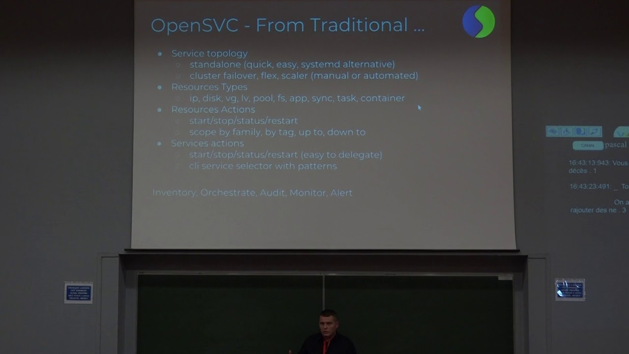Image from OpenSVC: Orchestration de stacks applicatives, avec ou sans containers