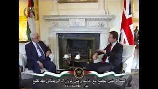 السيد الرئيس يجتمع مع  نائب رئيس الوزراء البريطاني نيك كليغ