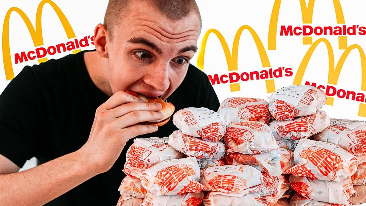Jeg spiser ALDRIG Cheeseburgers efter det her..