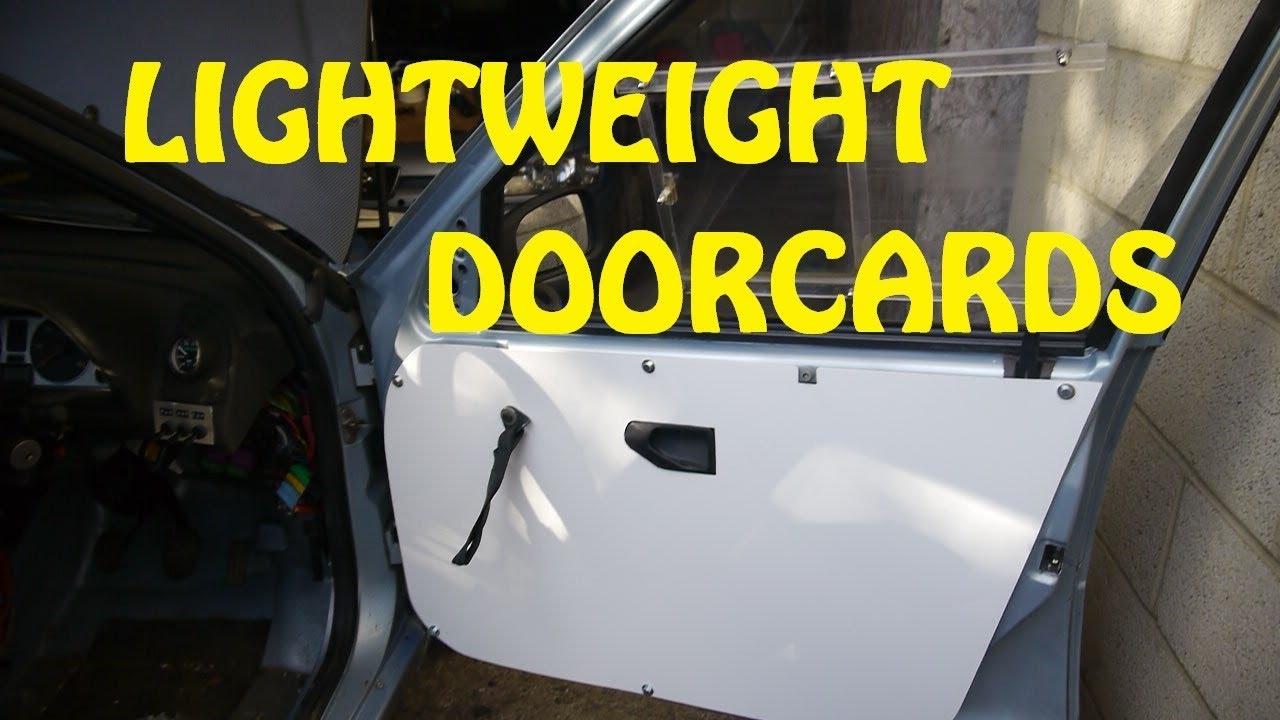 Lightweight Door Cards & Lightweight Door Cards - YouTube pezcame.com