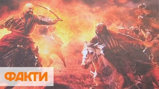 Украинские казаки-супергерои: выставка картин в Киеве