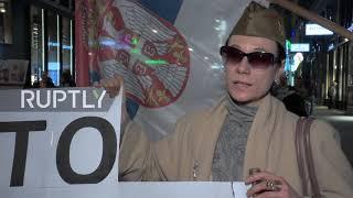 Austria: Serbs march against NATO on 20th anniversary of Yugoslavia bombing