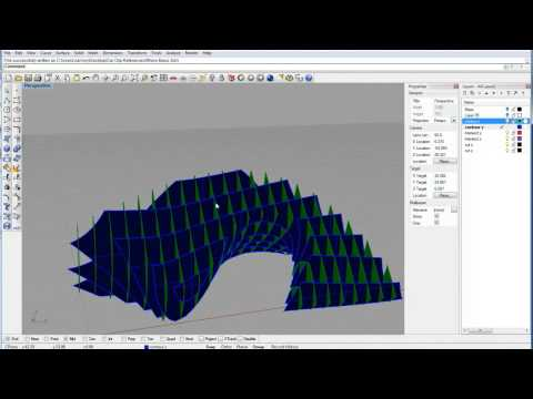 Creating a 3d Waffle Model in Rhino - Part 1